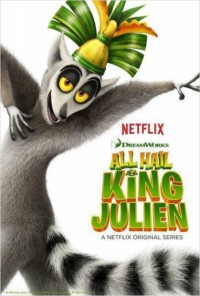 Roi Julian l'élu des Lémurs - S01 @ S04 [Complètes]