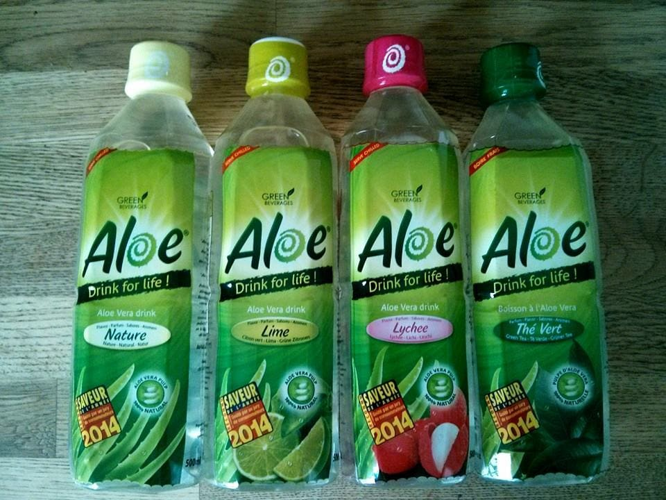 Miss Bobby_Aloe Drink for life !