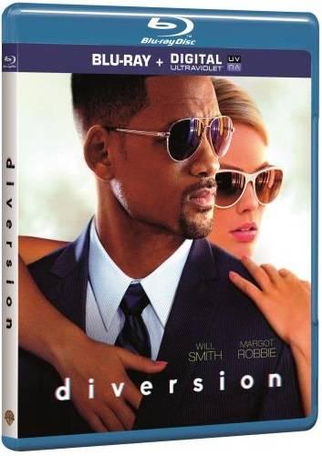 Blu-Ray Diversion will smith film focus