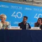 Miss Bobby_Helen_Mirren, Manish_Dayal, Charlotte_Lebon, conférence de presse