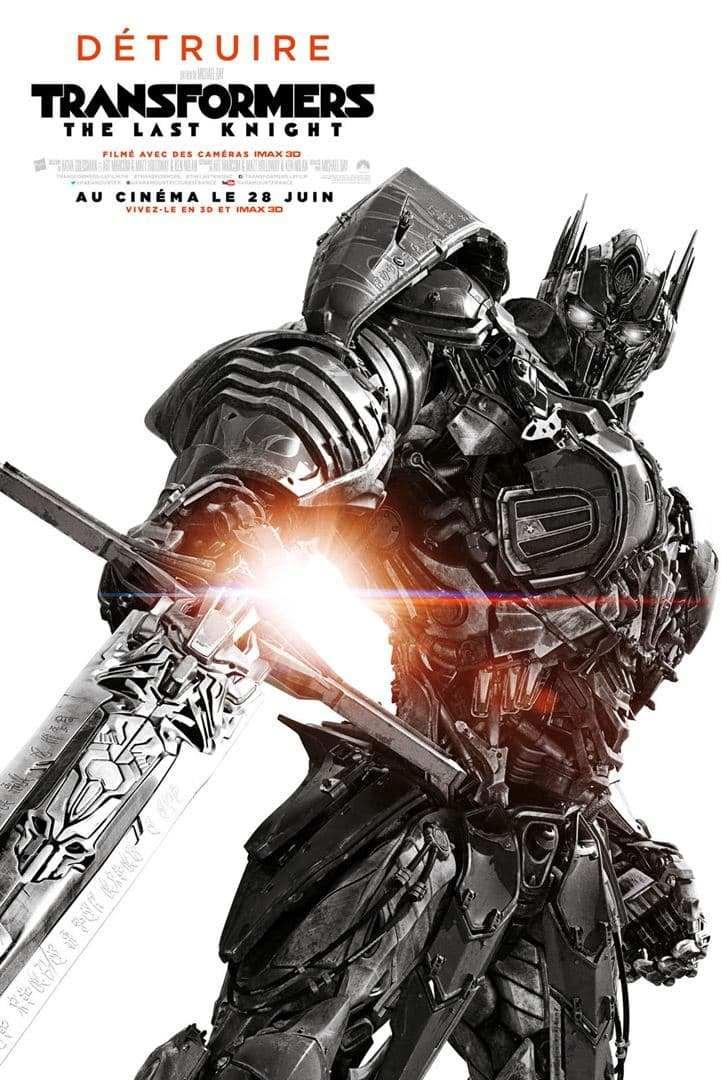 Transformers - the last knight_film