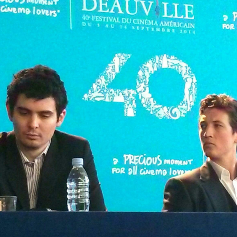Miss Bobby_Miles_Tller_Damien_Chazelle_Deauville 2014