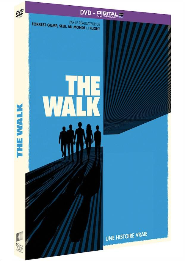 DVD_The Walk film Robert Zemeckis