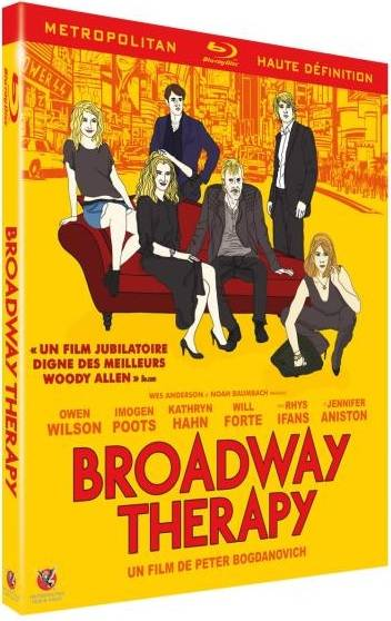 Blu-Ray Broadway Therapy Peter Bogdanovich