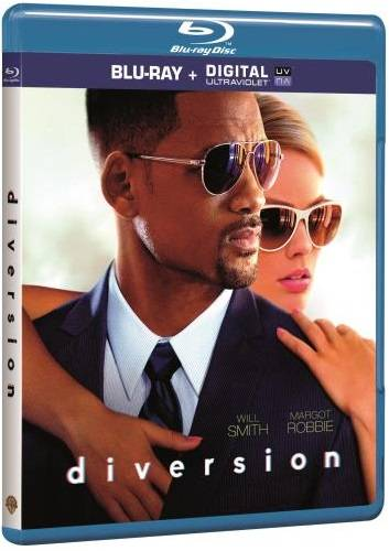 Blu-Ray Diversion will smith film focus