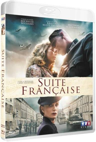 Blu-Ray Suite Française film michelle williams