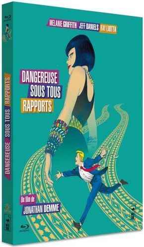 Blu-Ray_Dangereuse sous tous rapports film Melanie Griffith