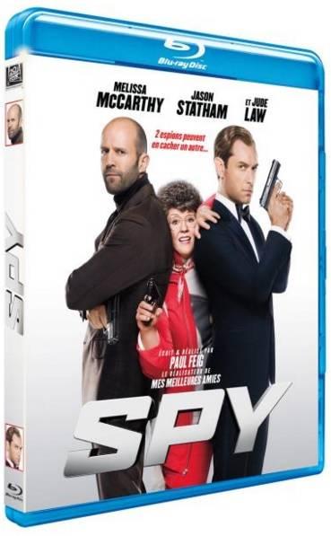 Blu-Ray_Spy film melissa mccarthy