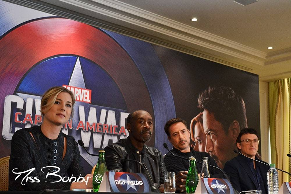 Captain America Civil War_conférence de presse