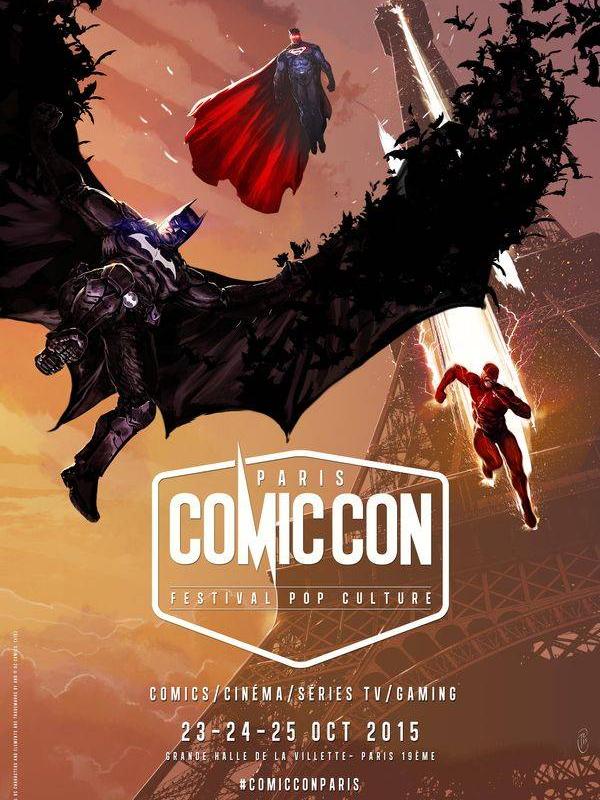 Affiche Paris Comic Con