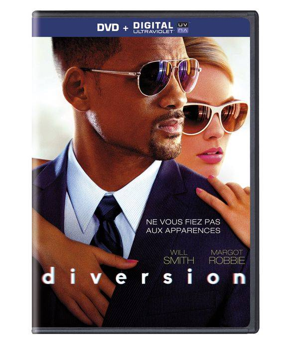DVD Diversion Will Smith Margot Robbie