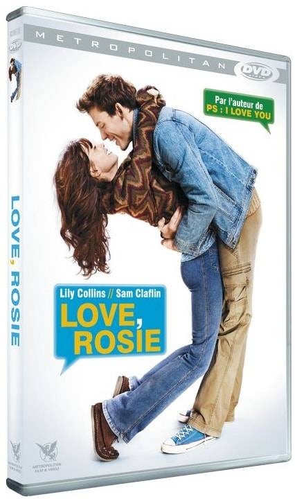 DVD LOVE ROSIE Lily Collins