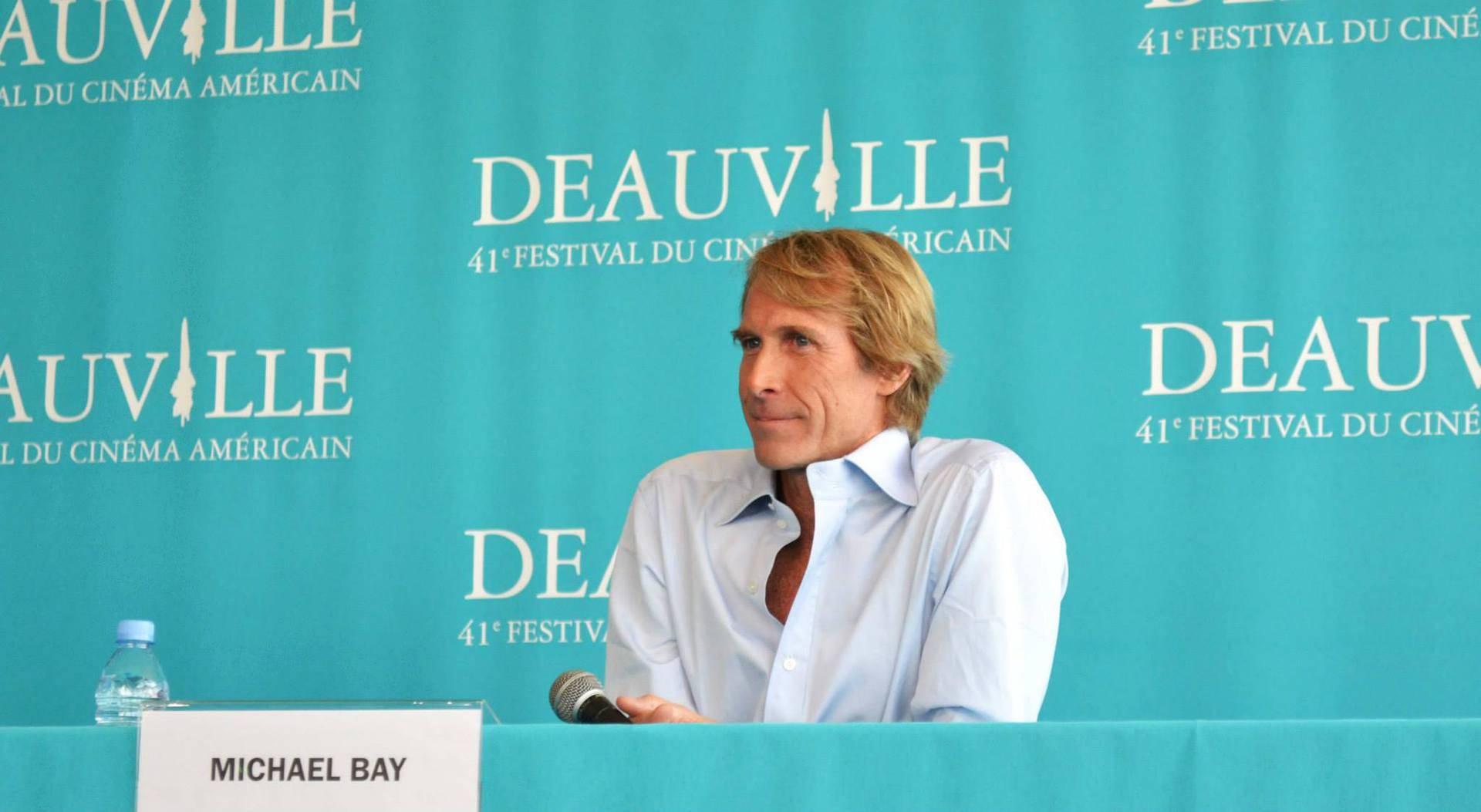 Deauville 2015 - Jour 8 - Michael Bay