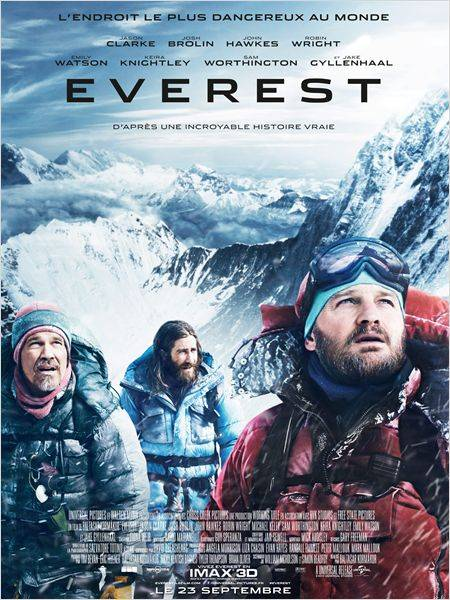 Everest film Jason Clarke Jake Gyllenhaal