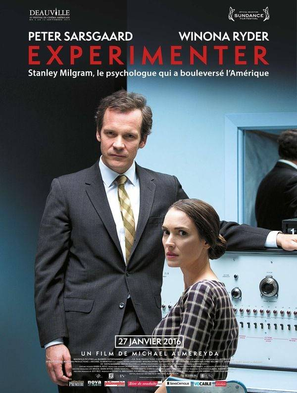 Experimenter film Michael Almereyda