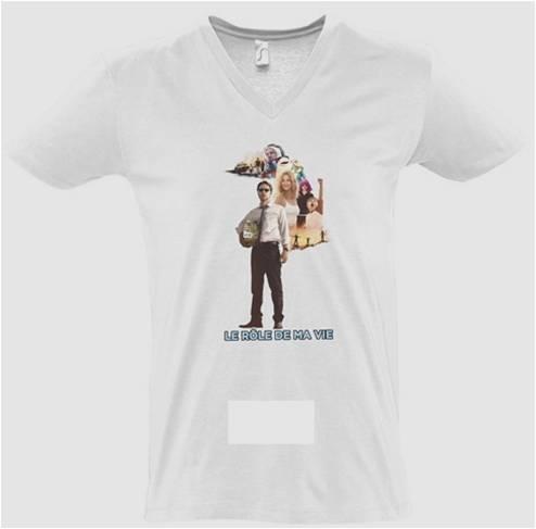 Le rôle de_ma vie - T-shirt