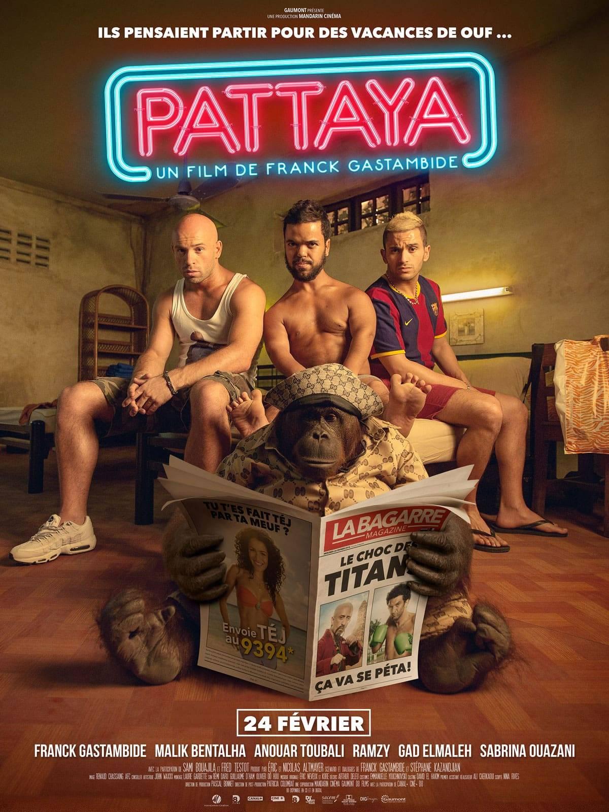 Pattaya film Franck Gastambide