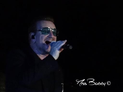 U2 - Bercy - 12.2015 - Bono